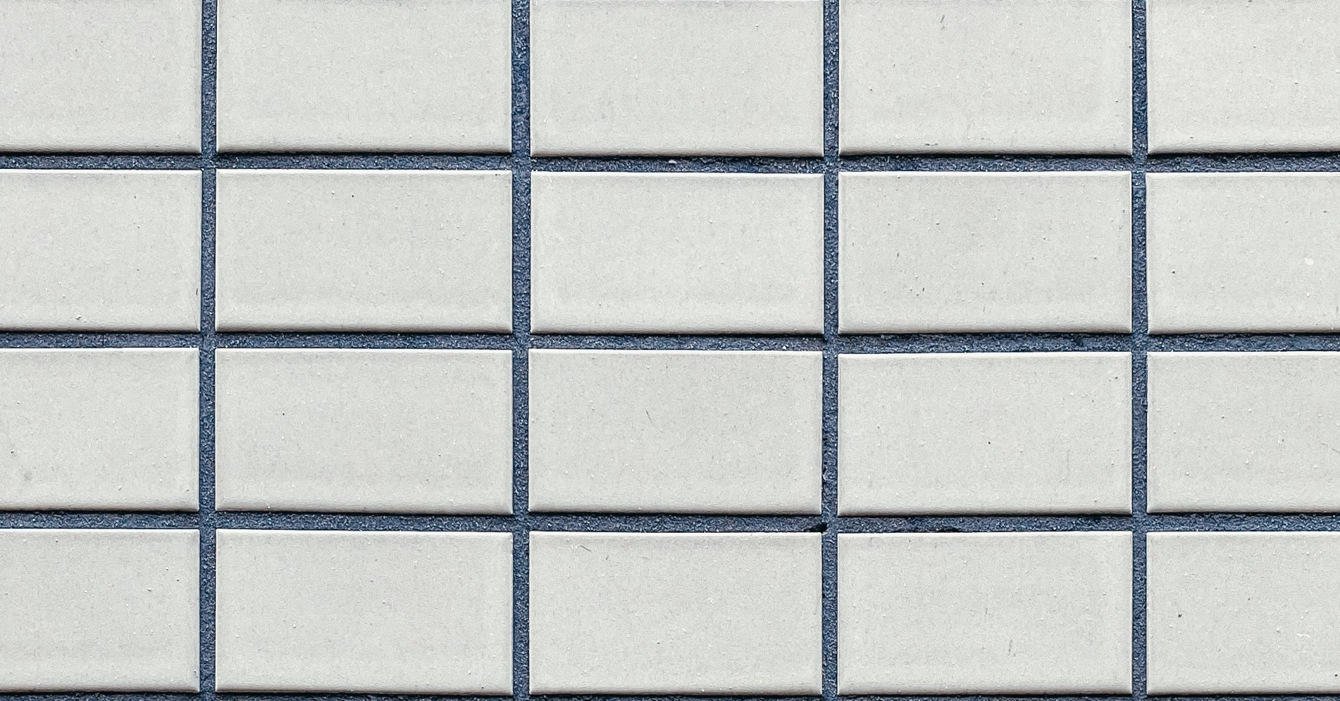 Close up grouted tiles